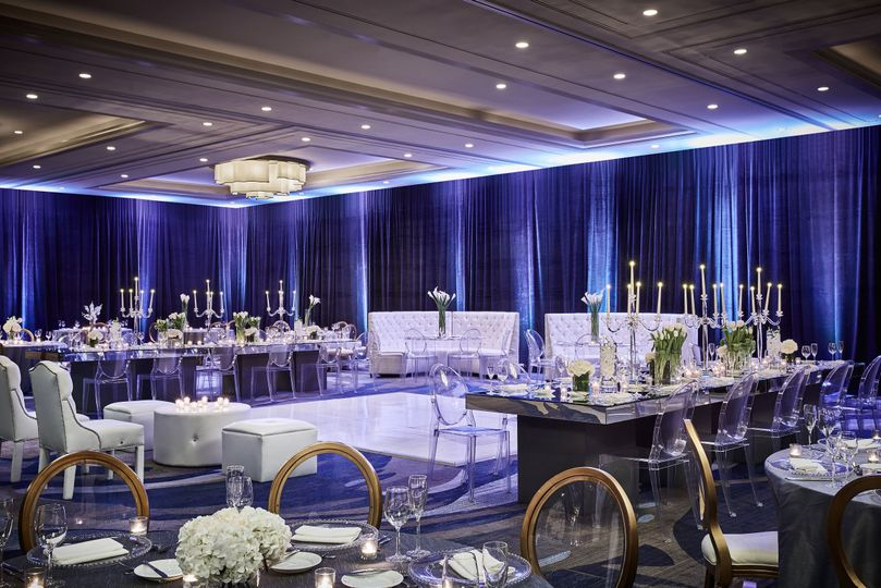 Ballroom wedding/social event