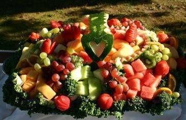 Heart Watermelon Basket