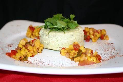 Avocado Crab Cheesecake