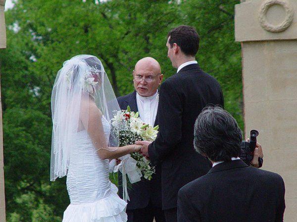 Backyards wedding