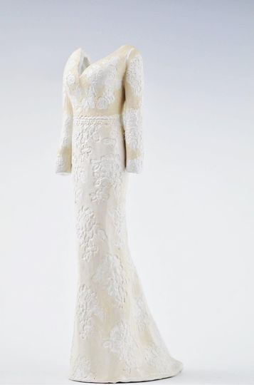 Ceramic Bridal Gown Replicas