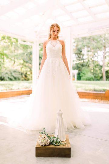 Ceramic Bridal Gown Replicas