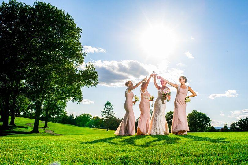 Ladies in the sun