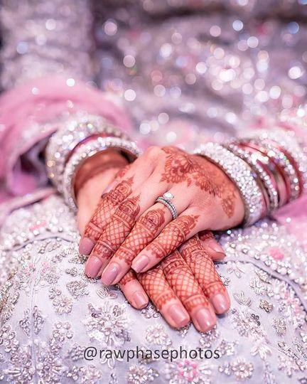 Henna & Ring Detail