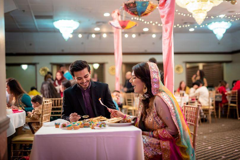 Engagement dinner