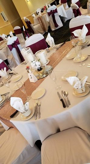Blush Table Setup