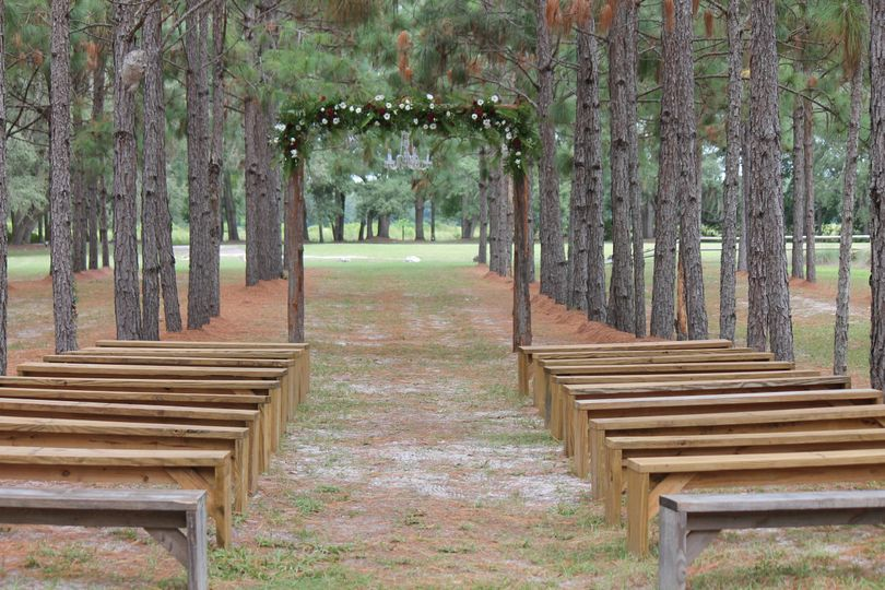 Ceremony in the Pines site