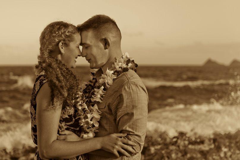 Traditional hawaiian greeting