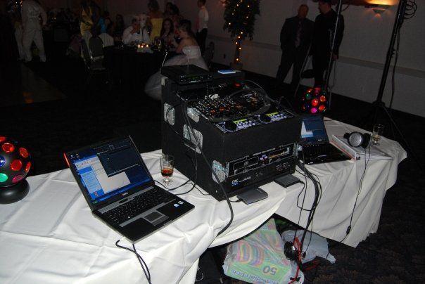 DJ equipmenrt