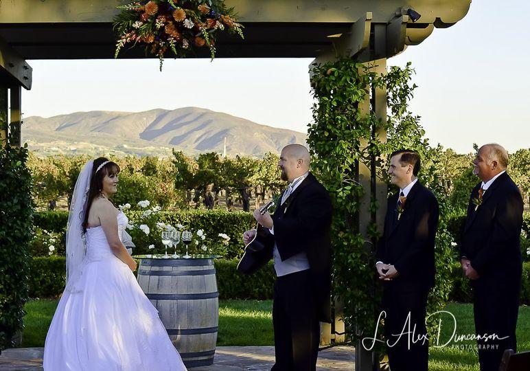 California winery serenade