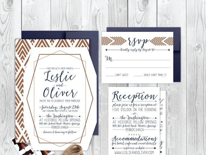 Tmx 1429573692088 Instagram Philadelphia wedding invitation