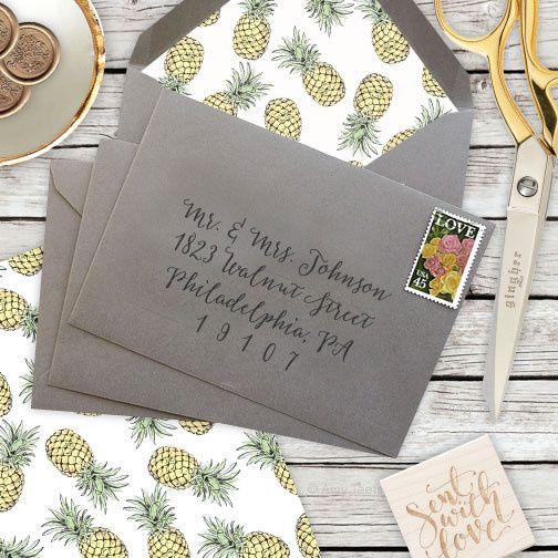 Tmx 1429573719661 Pineappleinstagram Philadelphia wedding invitation