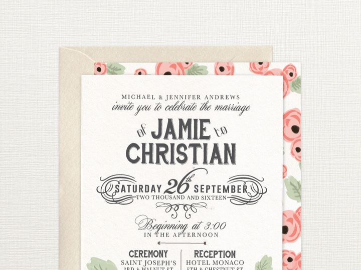 Tmx 1429573784790 Parisroseinvitationsstoreimage2 Philadelphia wedding invitation