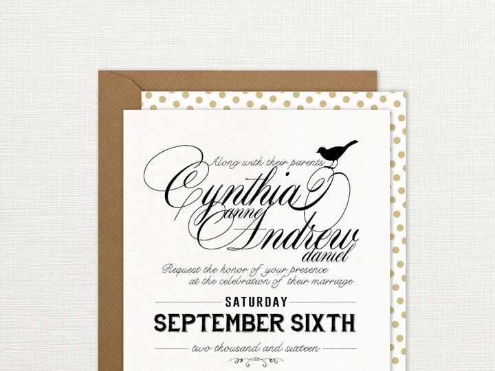 Tmx 1429573791607 Scriptbirdinvitationsstoreimage Philadelphia wedding invitation