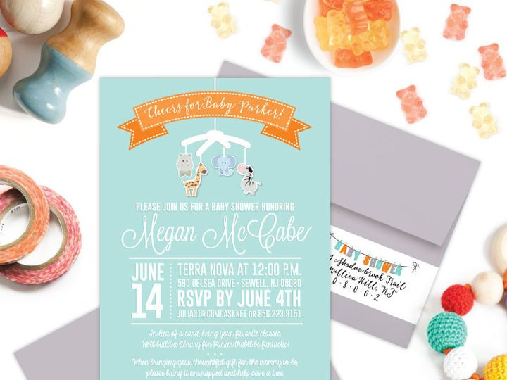 Tmx 1433434533424 Baby Philadelphia wedding invitation