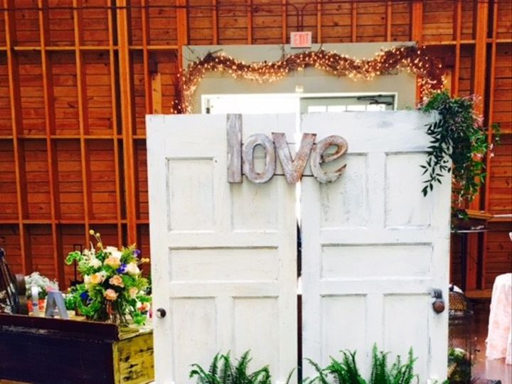 Tmx 1460467018418 Back Of Doors Holly Springs, North Carolina wedding florist