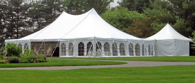 Closed tent