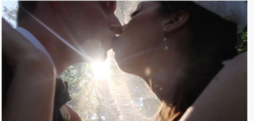 Romantic wedding film
