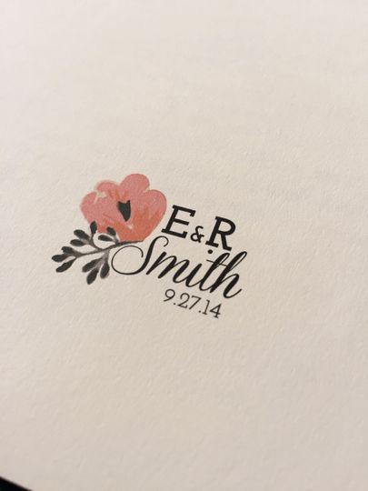 "Custom Wedding ""Logo"""