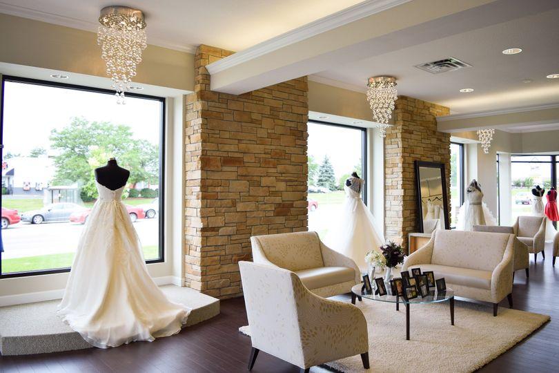 Gorgeous white interior