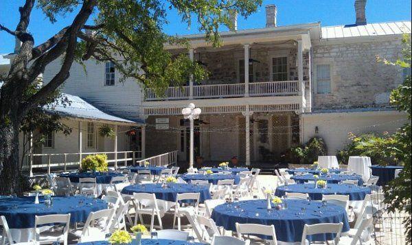 Outdoor reception venue