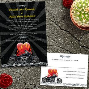 Tmx 1456270951042 Bikerwedding East Brunswick wedding invitation