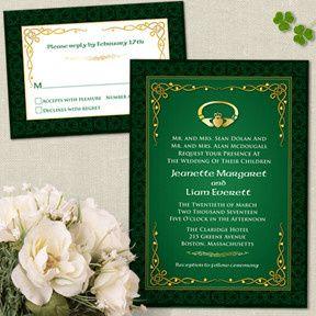 Tmx 1456270953599 Celticwedding East Brunswick wedding invitation