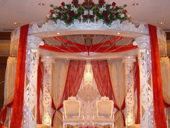 Tmx 1354516570970 Roundcrystalmandap Fairfax, District Of Columbia wedding eventproduction