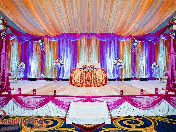 Tmx 1354516734226 Allfabricstageinprple Fairfax, District Of Columbia wedding eventproduction