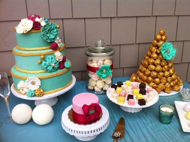 Tmx 1499970124796 Dessert Table San Diego wedding cake
