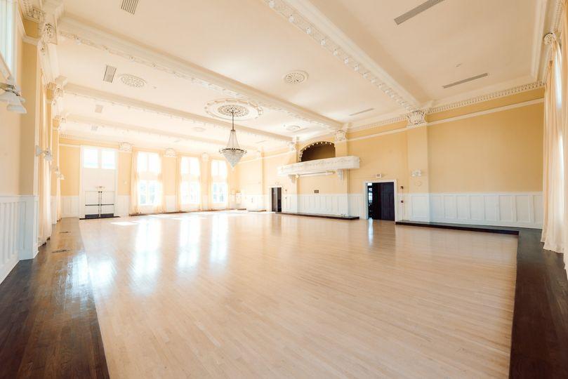 Original maple flooring