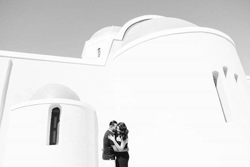Engagement Santorini