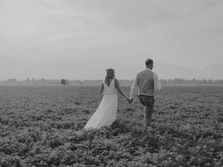 July wedding in the Bitterroot