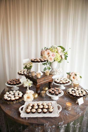 Classic dessert table