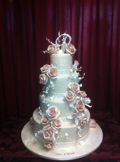 Silvery cake