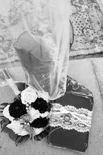 Bridal accessories.