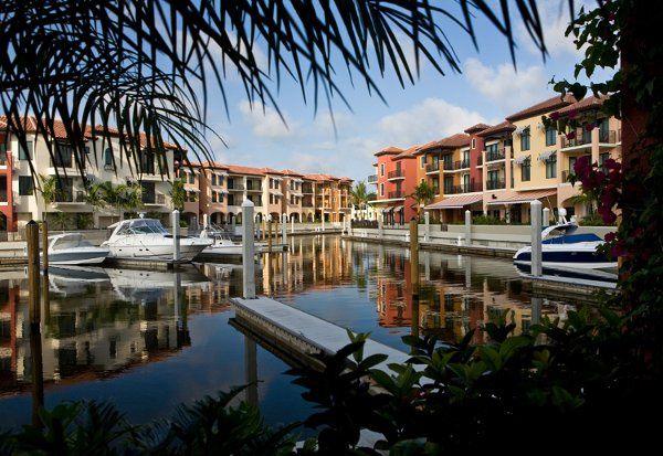 Unique marina venue at Naples Bay Resort and Marina