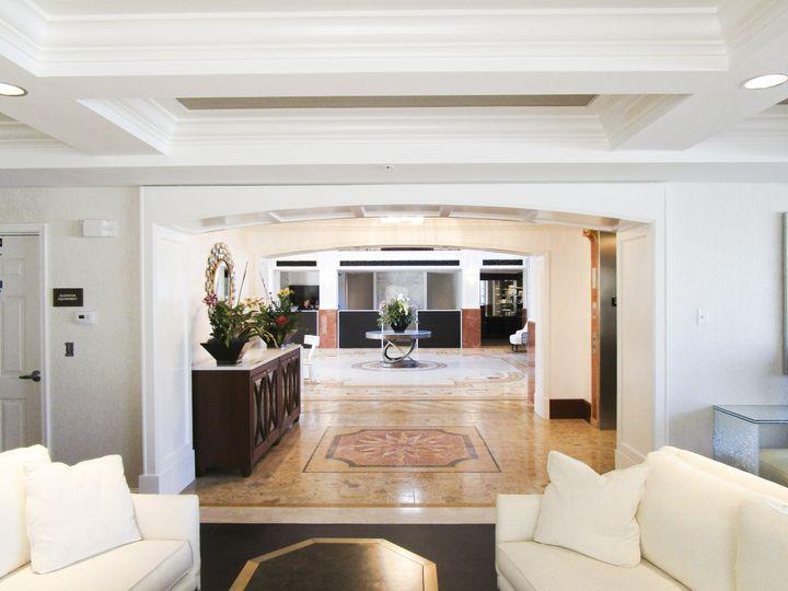 Elegant Lobby at Naples Bay Resort and Marina