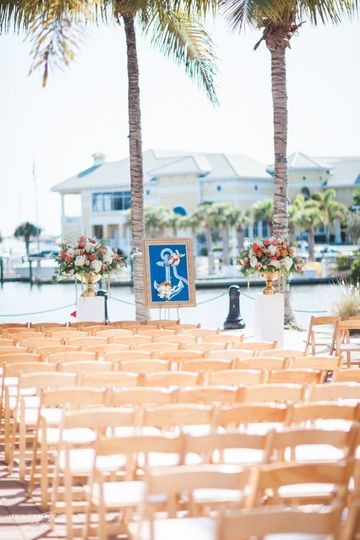 Exchange vows with a beautiful bay vista at Naples Bay Resort and Marina