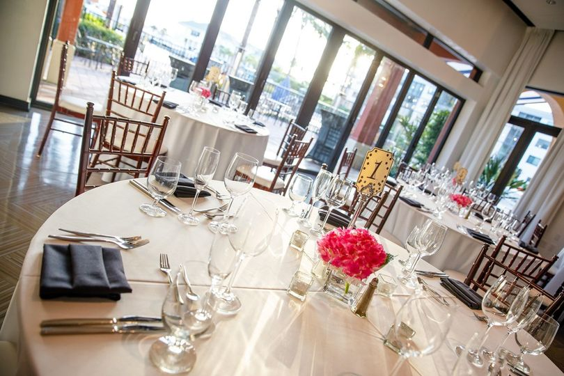 """Our signature wedding venue """"The Pointe"""" is both indoor and outdoor."""