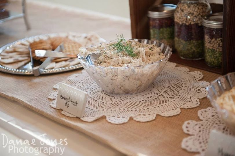 cater trout dip