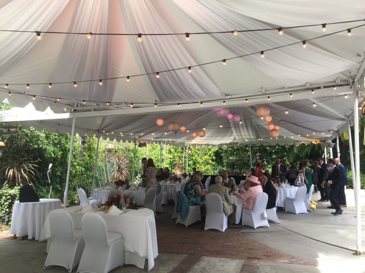 Beautiful brunch wedding