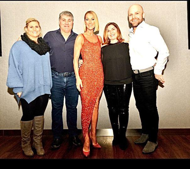 Celine Dion concert