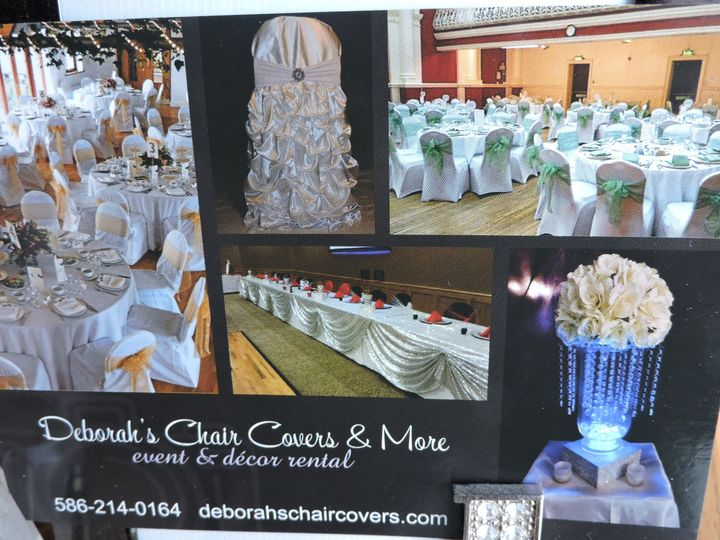 Deborah's Chair Covers & More