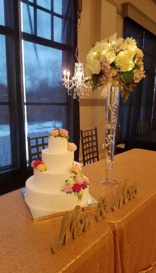 Happy couple cake