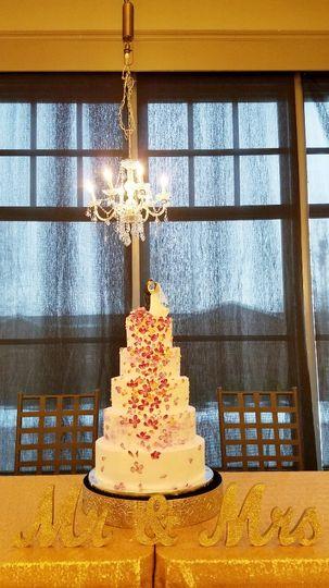 Blawesome Wedding Cake
