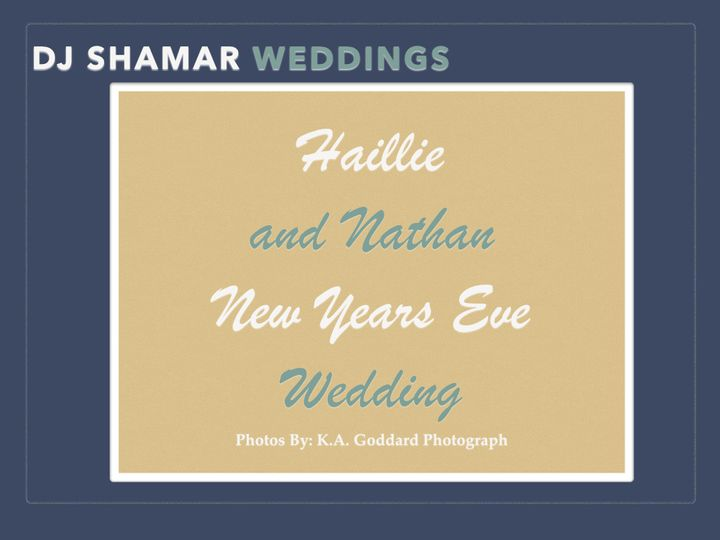 Excellent New Years Wedding!