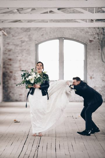 A little wedding day fun!