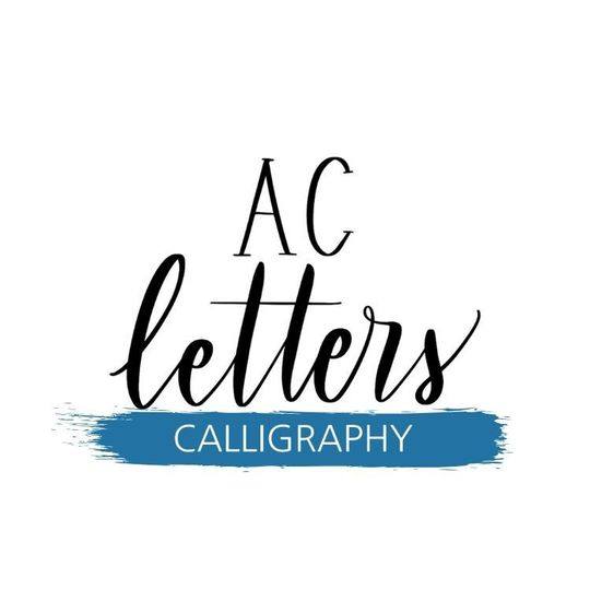 AC Letters Calligraphy Logo