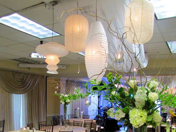 Tmx 1345038321493 ViewoftheRoombeautifulcenterpieceandlanterns Plain City wedding catering
